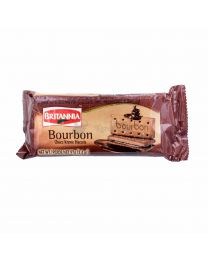 BRITANNIA BOURBON CHOCLATE CREAM - 97g